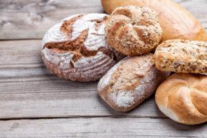 fresh bread basket